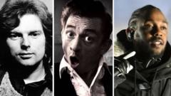 Van Morrison, Johnny Cash and Kendrick Lamar