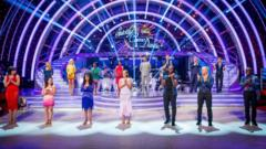 Strictly celebs and partners