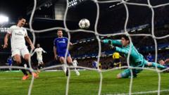 Chelsea beaten 2-1 at Stamford Bridge