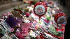 flower tributes for Hillsborough