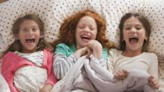 girls-at-a-sleepover