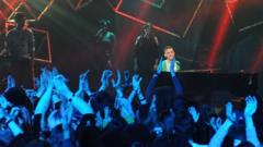 Years & Years performed live on stage