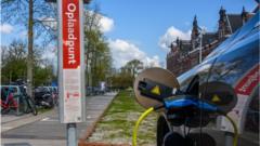Volvo car charging
