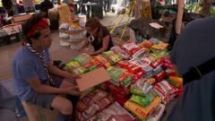 Donation centre in Mexico City