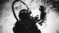 Alexey Leonov in space