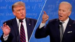 Trump and Biden had many angry exchanges