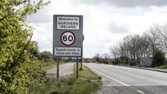 The Border Separating Northern Ireland and the Republic