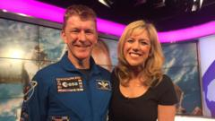 Tim Peake on the NR sofa