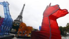 """Noah's Ark"" arrives in Paris"