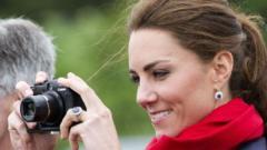 kate taking photo