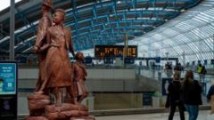 Mock up of statue in Waterloo