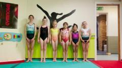 Young British Gymnasts
