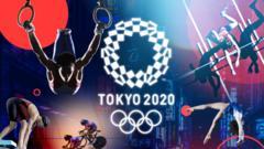 Tokyo 2020 graphics.