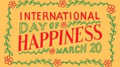 Logo of International Day of Happiness