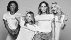 "The Spice Girls have been the faces of the Comic Relief ""equality for women"" campaign."