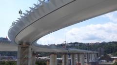 Renzo Piano's new bridge in Genoa