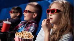 kids with popcorn