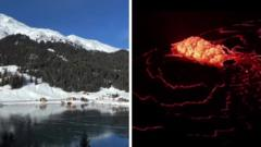 Lake and Lava