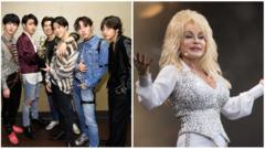 BTS and Dolly.