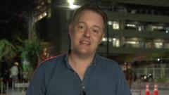 BBC correspondent Martin Patience