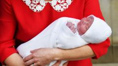 The Duke and Duchess of Cambridge's new son