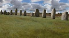 Large stones at Durrington Walls