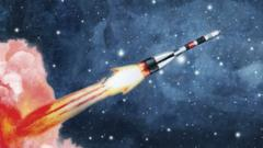 a-rocket-blasting-into-space