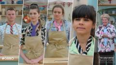 bakers wearing ties in semi finals