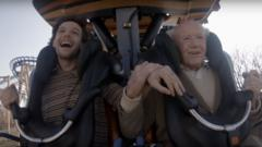 Louis and Richard on rollercoaster