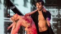 Gleb Savchenko-performing-on-Dancing-with-the-Stars.