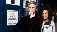 Peter Capaldi and Pearl Mackie star in Doctor Who