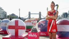 Handout photo provided by Vitality Life of England's Alex Danson