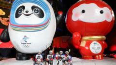 Mascots for Beijing Games