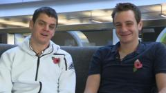 Jonny and Alistair Brownlee