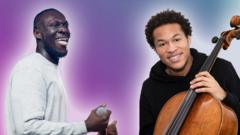 Stormzy and Sheku Kanneh-Mason