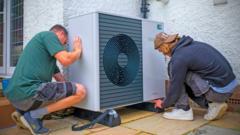 people-installing-heat-pump
