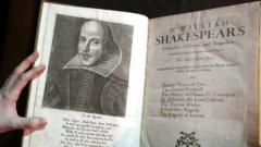 William Shakespeare First Folio