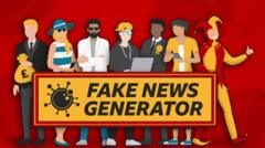 Fake news generators