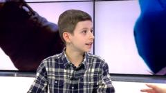 Georgie the 9-year-old boy who won Everton's goal of the month