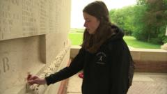 girl at the somme