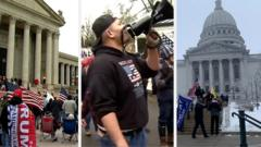 Protests at state capitols