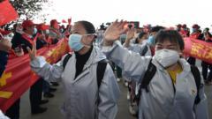 medical-staff-celebrate-in-wuhan