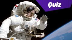 astronaut waving