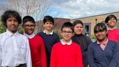 Kids who met Prince Philip
