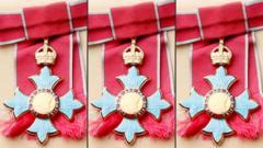 CBE medal.