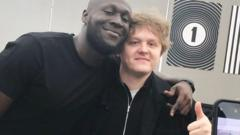 Stormzy and Lewis Capaldi