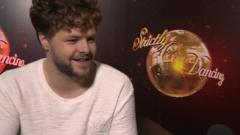 Strictly star Jay McGuiness
