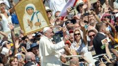 Pope Francis names Mother Teresa a saint