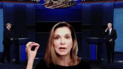 Body language expert, Trump and Biden