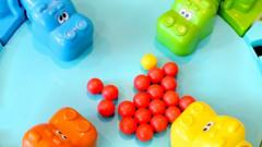 Image showing game Hungry Hungry Hippos